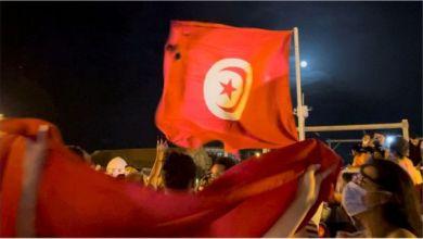 صورة مقاربة توضح: ما يحصل في تونس اليوم…