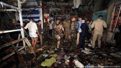 صورة انفجار اليوم في سوق الوحيلات والكهرباء وحرائق المستشفى