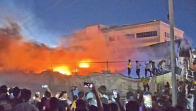 صورة حرائق مستشفيات العراق غير منفصلة عن الحرائق في المنطقة