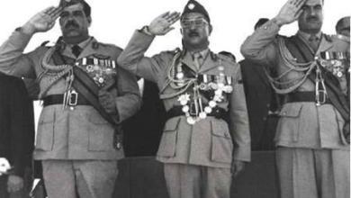صورة انقلاب ١٧ تموز وآثاره السلبية على العراق والمنطقة