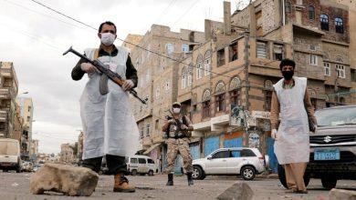 صورة في اليمن عدوان ظالم وصمت دولي مخزي .؟!