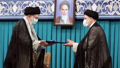 صورة حكم الإمام الخامنئي في تنفيذ رئاسة الجمهورية لحجة الإسلام السيد إبراهيم رئيسي