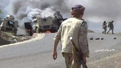 صورة هل باتت مأرب الآن بقبضة الجيش اليمني واللجان!!
