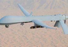 صورة استخبارات  على الهواء ……. قصف  جوي مجهول على الحدود  العراقية