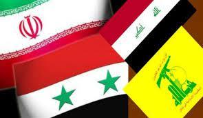 صورة إيران وسوريا وحزب الله والحشد الشعبي وأنصار الله رسموا خريطة المنطقة الجديدة
