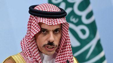 صورة وزير خارجية السعودية: أي سلام واستقرار ساهمت فيه إسرائيل في المنطقة؟