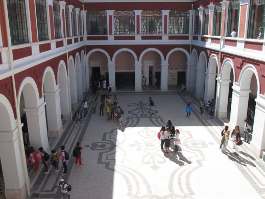 Internal courtyard