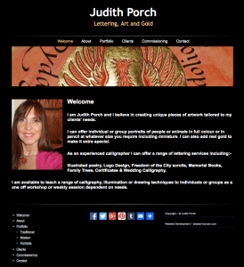 Judith Porch website