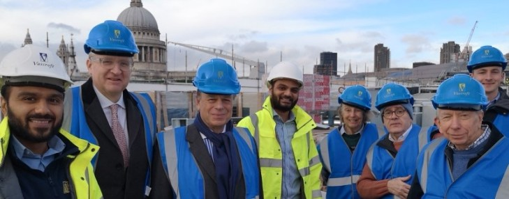 Queensbridge House hotel development site visit