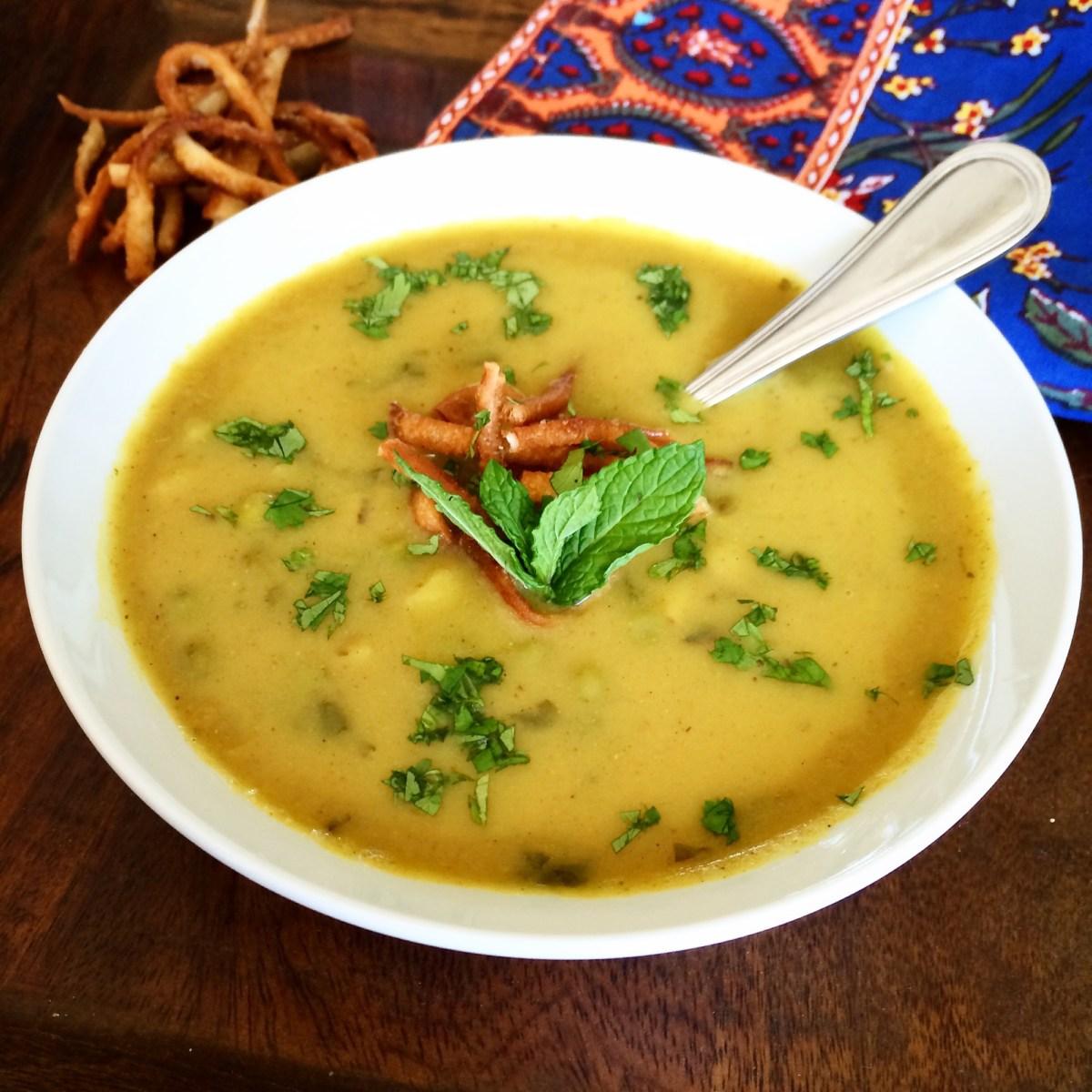 Creamy Samosa Soup