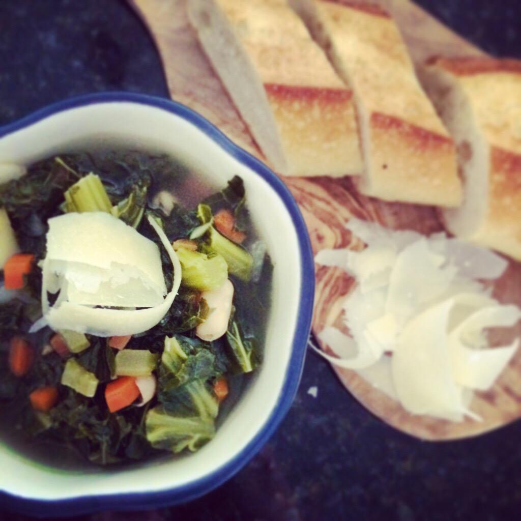 Rustic Kale Soup