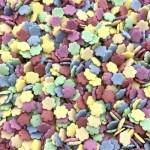 confetti bloemetjes