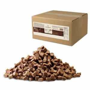 bakvaste chunks in melkchocolade