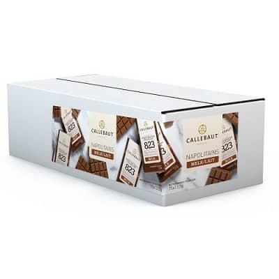 mini tabletjes van melkchocolade