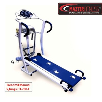 Treadmill-manual-5-fungsi-TJ-780F-Mazter-Fitness