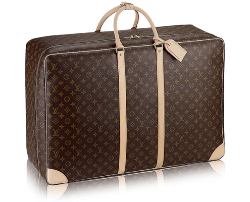 Louis Vuitton Luggage ; Credits : Louis Vuitton.