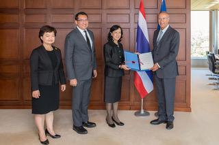 La Thaïlande adhère au système de Madrid (PHOTO: WIPO/Berrod).