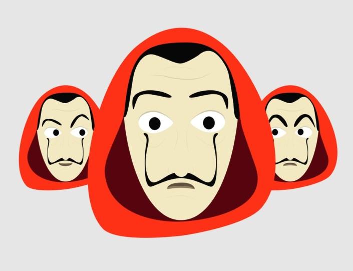 Casa de Papel et droits de propriété intellectuelle : bas les masques !
