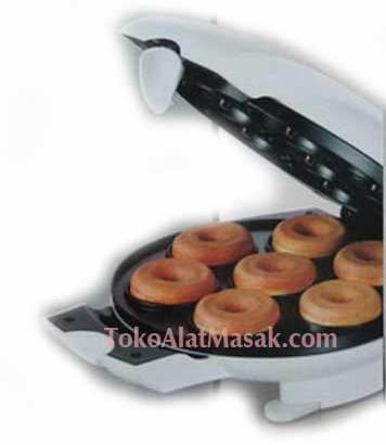 Cetakan dan Pembuat Donut Elektrik