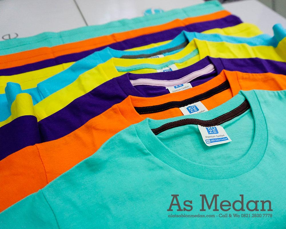 Kaos Polos Koze Premium Comfort | Kaos Sablon Cotton Combed 30's