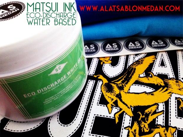 Tinta Sablon Kaos Baju Matsui Eco Discharge White 0810