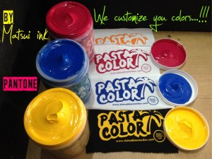 pasta color, tinta matsui, tinta sablon