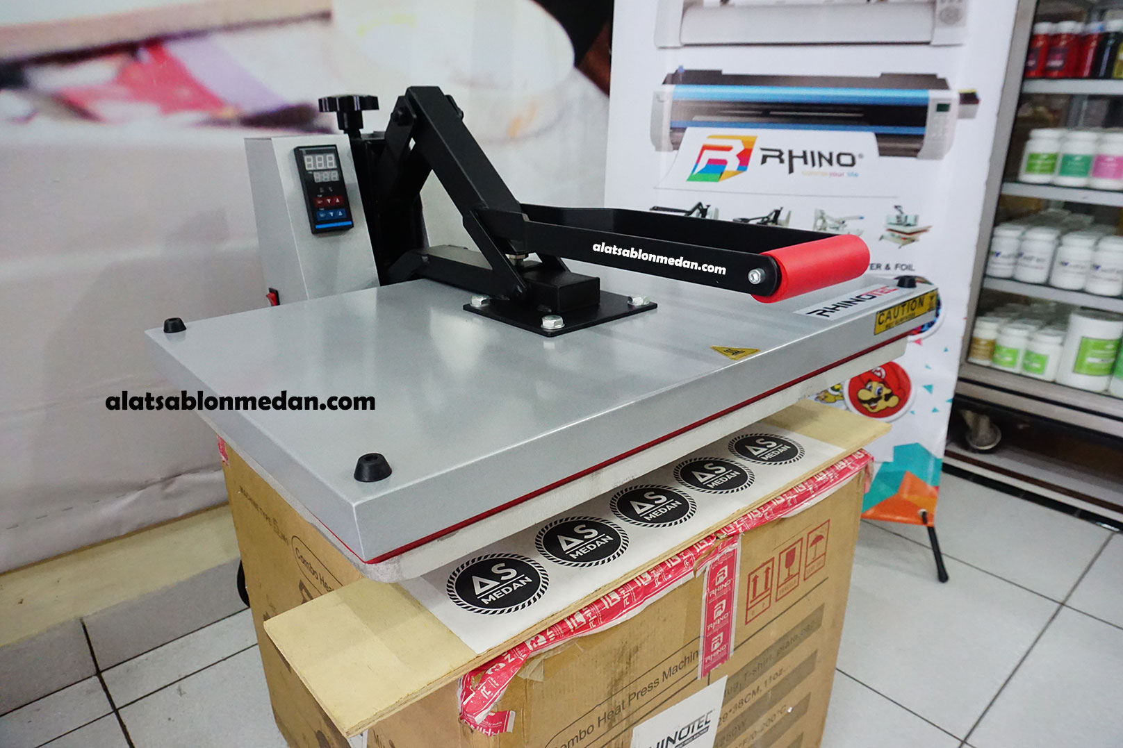 Rhinotec Mesin press kaos 40x60 1400w