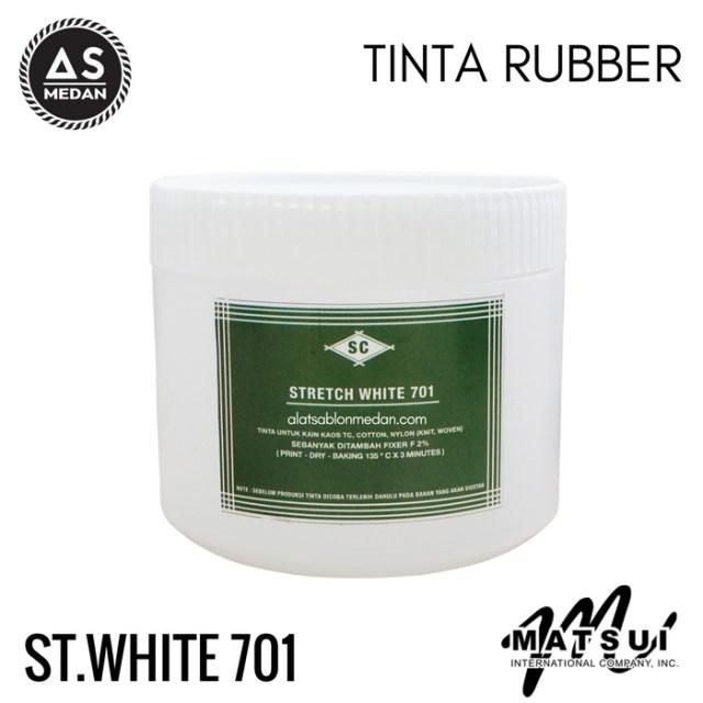 Tinta Sablon Kaos Matsui Stretch White 701