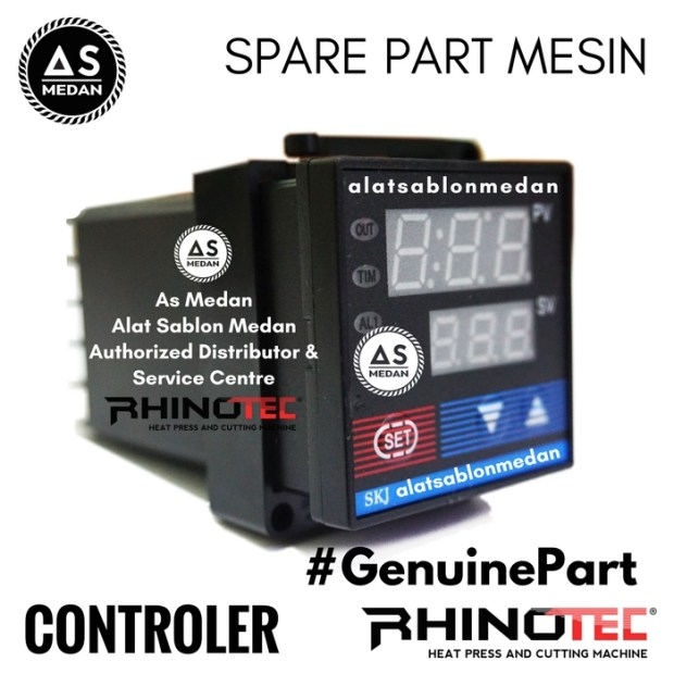 Controler Spare Part Mesin Press Rhinotec Heat Press Machine