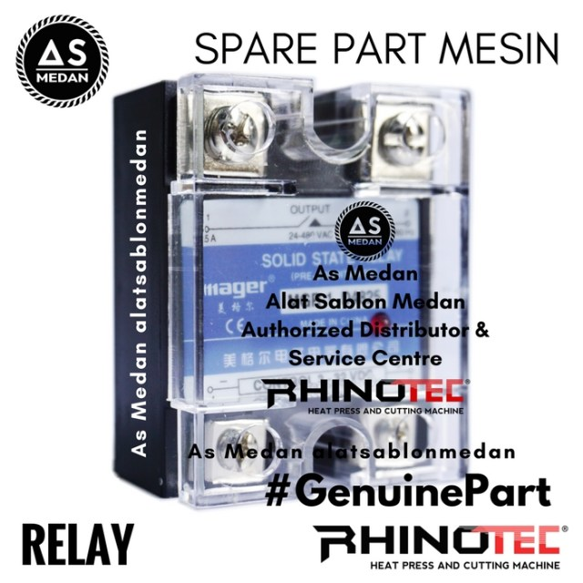Relay Spare Part Mesin Press Rhinotec Heat Press Machine