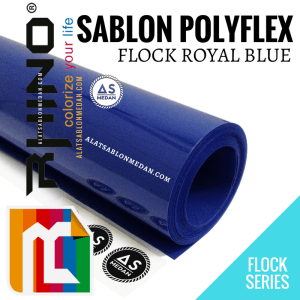 Polyflex Korea Rhino Flock Royal Blue