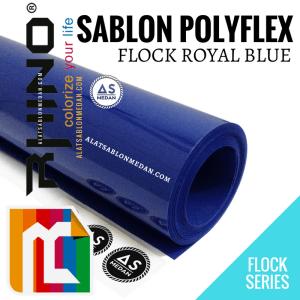 Polyflex Korea Rhino Flock Royal Blue