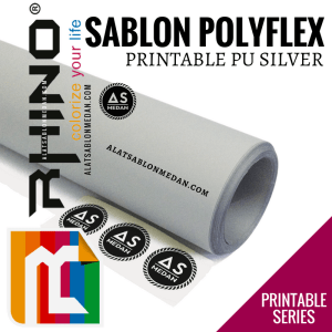 Polyflex Korea Rhino Printable PU Silver