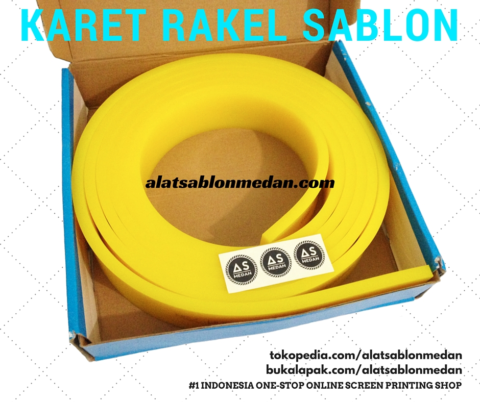 KARET RAKEL SABLON MANUAL