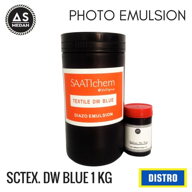 PHOTO EMULSION SAATIchem TEXTILE DW BLUE