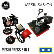 Mesin press 5 in 1