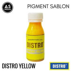 Biang Warna Sablon Distro Yellow