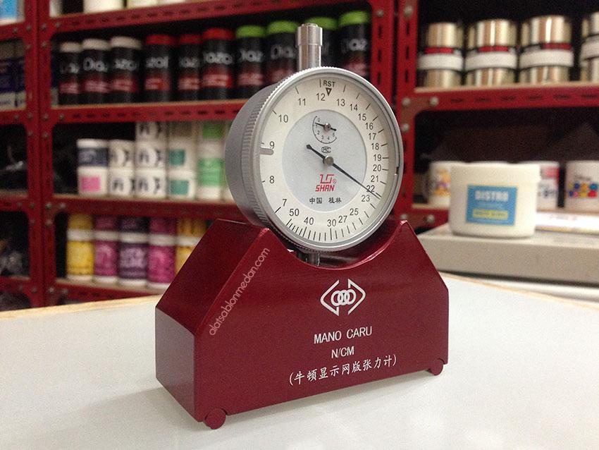 Screen tension meter