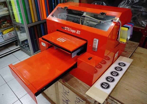 Mesin printer DTG second