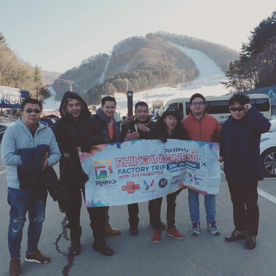 Factory Trip Goes To Korea with Rhino Indonesia