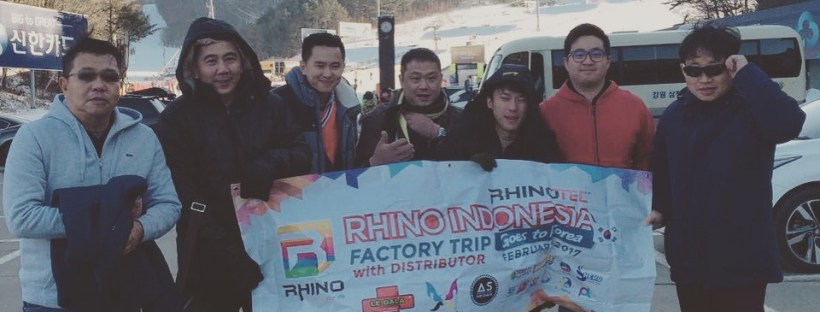 Factory Trip Goes To Korea with Rhino Indonesia