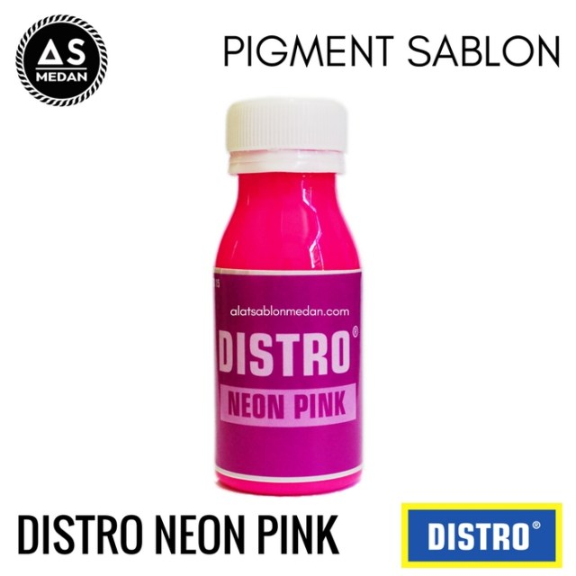Biang Warna Sablon Distro Neon Pink