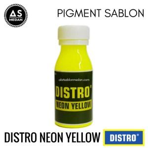 Biang Warna Sablon Distro Neon Yellow