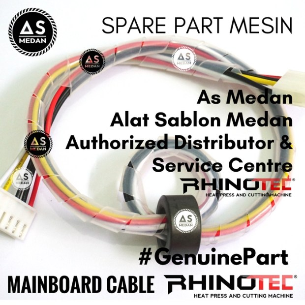 Mainboard Cable Sparepart Alat Sablon Digital Mesin Cutting Rhinotec