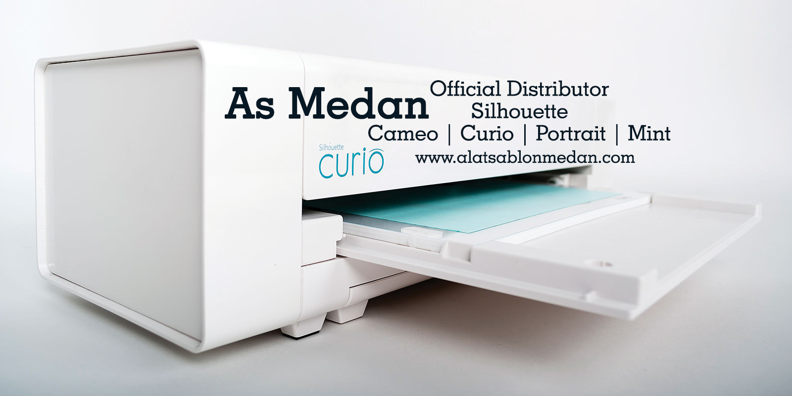 As Medan Official Distributor Silhouette Cameo Curio Portrait Mints