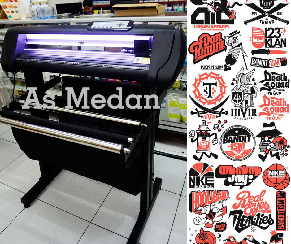 Mesin Cutting Sticker Jinka NXL PRO 721 LED Corel Draw