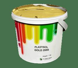 Tinta Sablon Kaos Ant Ink Plastisol Gold 1kg
