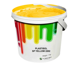 Tinta Sablon Kaos Ant Ink Plastisol Separasi Yellow 1kg
