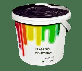 Tinta Sablon Kaos Ant Ink Plastisol Violet 1kg