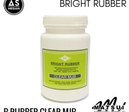 Tinta Sablon Kaos Matsui Bright Rubber Clear MJB 250gr